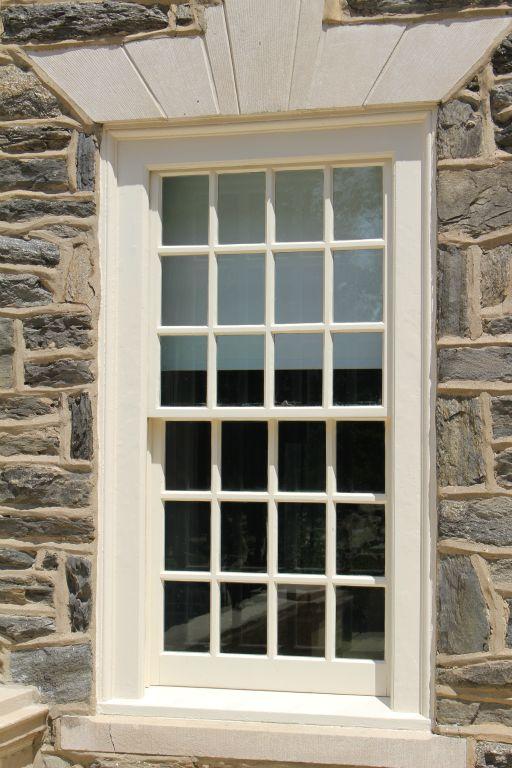 Custom wood window