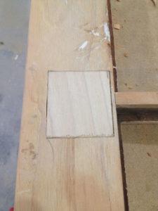 Wood Dutchman Repair