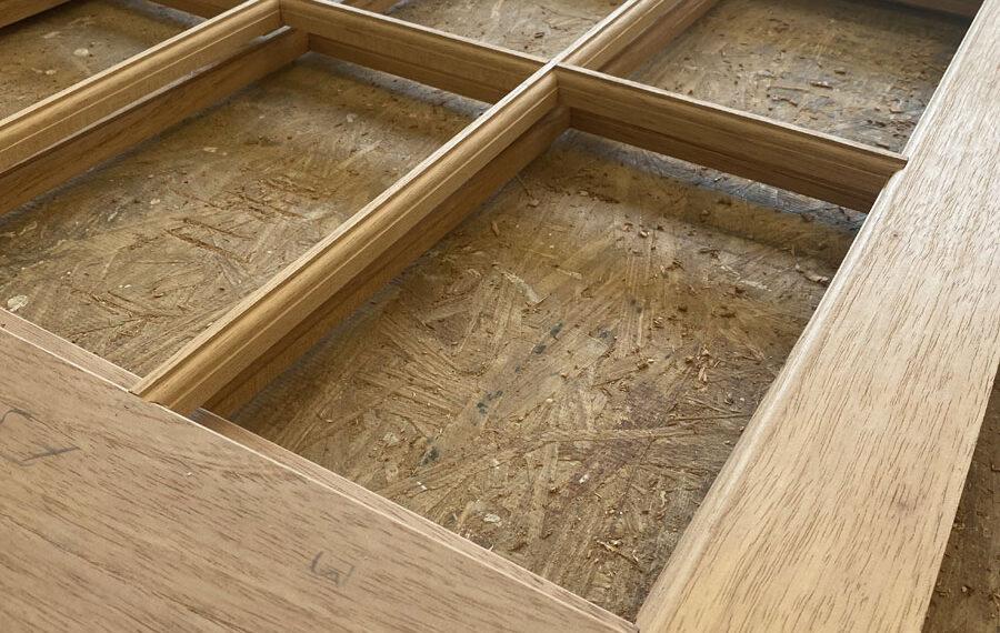 Assembled Wood Storm Window